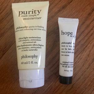 3/$15 philosophy moisturizer
